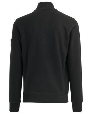Sweatshirt with zippered stand-up collar STONE ISLAND