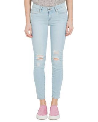 Jeans im Slim Fit und Used-Look PAIGE