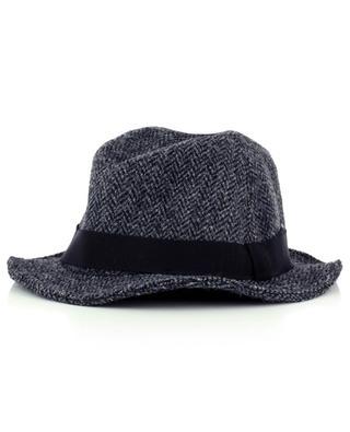 Herringbone pattern wool hat GI'N'GI