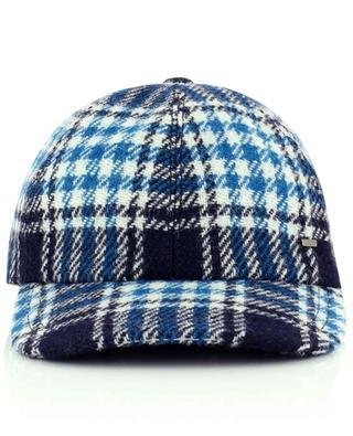 Wool check cap GI'N'GI