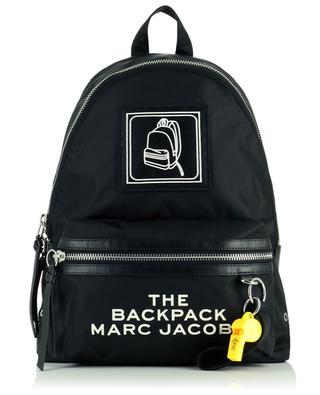 Rucksack aus Nylon mit Stickerei und Pfeife The Pictogram Backpack MARC JACOBS