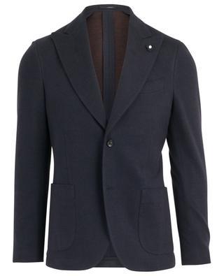 Cotton and wool blend blazer LARDINI