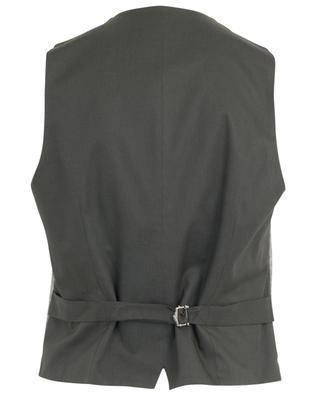 Textured wool vest LARDINI