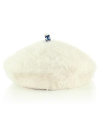 Béret en laine angora mélangée GI'N'GI