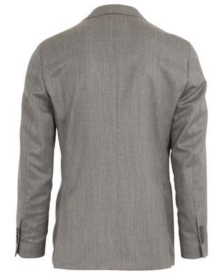 Anzug aus Wolle und Seide mit Fischgrätenmuster LARDINI