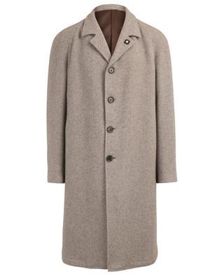 Manteau à boutonnière simple en poil de yack LARDINI