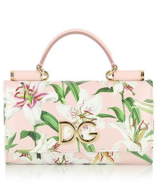 Minitasche mit Lilienprint Sicily Von Bag DOLCE & GABBANA