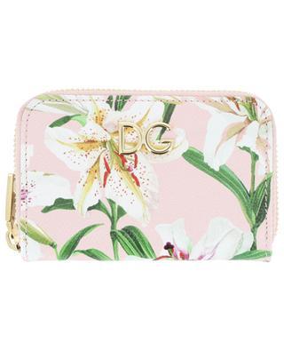 DG small lily print wallet DOLCE & GABBANA