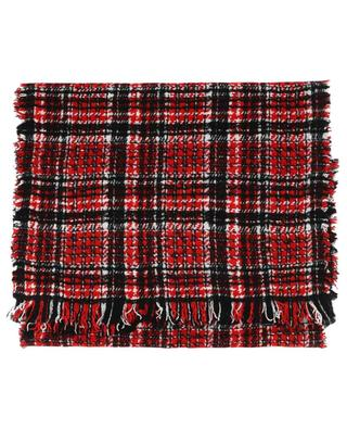 Tonya glen check scarf FALIERO SARTI