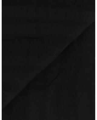 Kenille fine striped modal blend scarf FALIERO SARTI