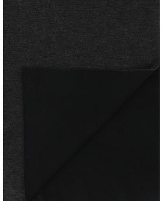 Aria bicolour fine knit scarf FALIERO SARTI