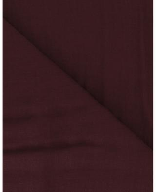 Einfarbiger Schal aus Modal und Kaschmir Azzurra U FALIERO SARTI