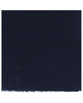 Écharpe unie en modal et cachemire Azzurra FALIERO SARTI