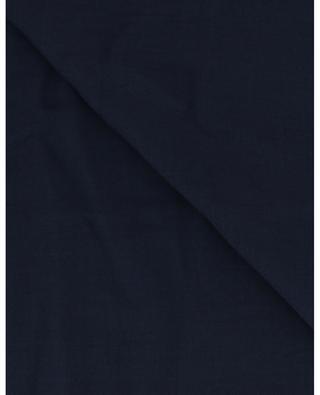 Azzurra monochrome modal and cashmere scarf FALIERO SARTI