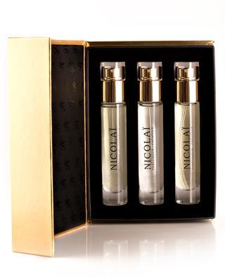 Eau de Parfum Patchouli Intense - 3 x 15 ml NICOLAI