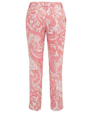 Pantalon à pinces en brocard DOLCE & GABBANA