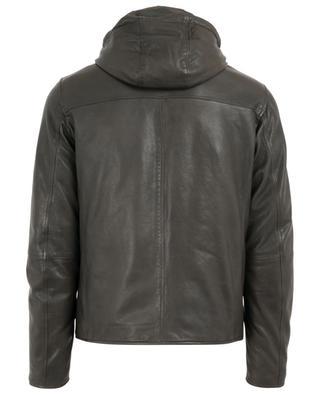 Reversible leather jacket AD UNUM