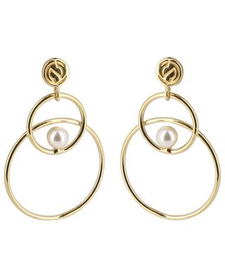 Neo gold earrings CAROLINE NAJMAN