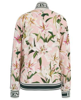 Lily-print track jacket DOLCE & GABBANA
