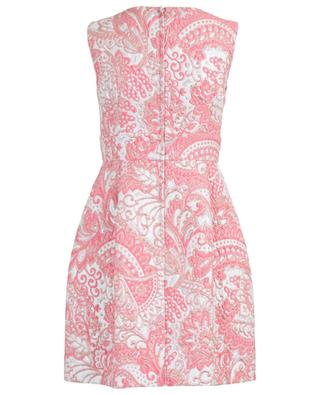 Jacquard lamé sleeveless mini dress DOLCE & GABBANA