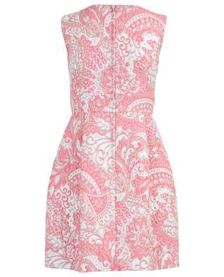 Jacquard lamé sleeveless mini dress DOLCE & GABBANA