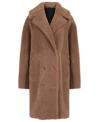 Medea Short reversible lamb shearling coat NOVE LEDER