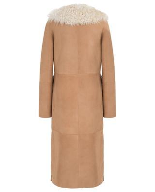 Langer Mantel aus Lammleder NOVE LEDER