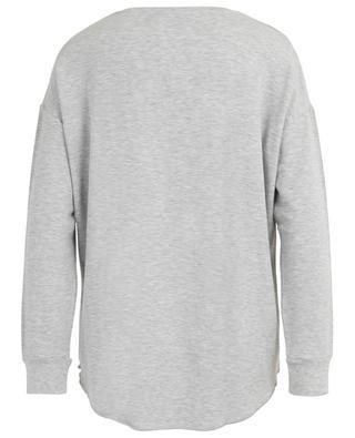 T-Shirt mit V-Ausschnitt French Touch Soft Touch MAJESTIC FILATURES
