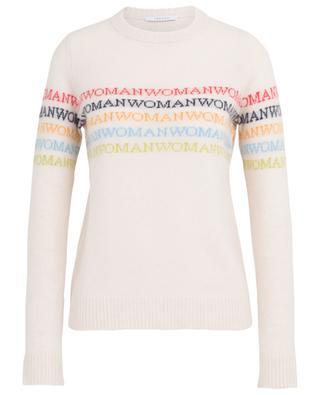 Road Woman lettering wool blend jumper IBLUES