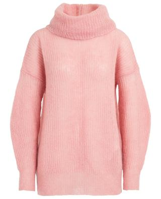 Guido loose mohair jumper with removable turtleneck IBLUES