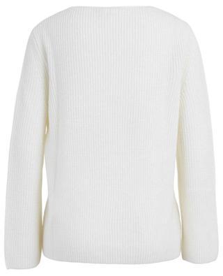 Gerippter V-Kragen-Pullover Ugo IBLUES