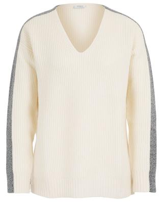 Relaxed fit V-neck jumper AKRIS PUNTO