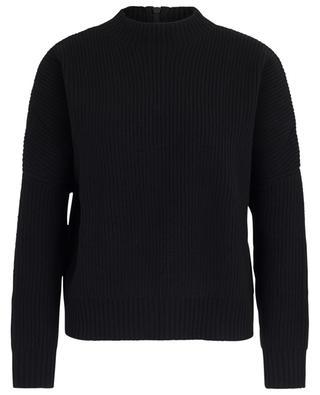 Gerippter Pullover aus Wolle und Kaschmir AKRIS PUNTO