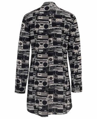 Bluse aus Seide mit Print Stereo AKRIS PUNTO