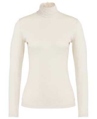 Stretchy modal long-sleeved T-shirt AKRIS PUNTO