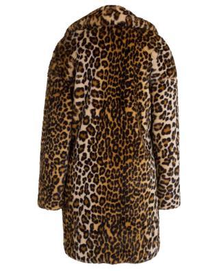 Leopard print faux fur coat FAKE FUR