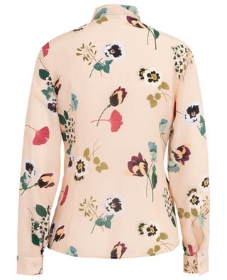 Pansy floral print silk shirt RED VALENTINO
