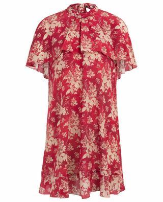 Bedrucktes Seiden-Cape-Kleid Floral Tapestry RED VALENTINO