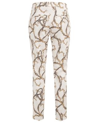Rafferty cropped trousers chain print CAMBIO