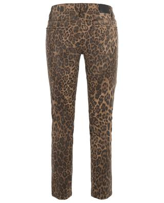 Tess cropped jeans leopard print CAMBIO