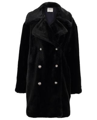 Oversize-Mantel aus Kunstpelz Cold Soldier FUZZ NOT FUR