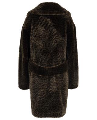 Leopard Cold Soldier oversize faux fur coat / FAZ / NOT FUR