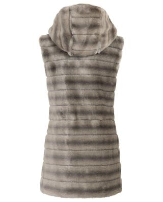 Oh My Deer fake fur mid-length vest / FAZ / NOT FUR