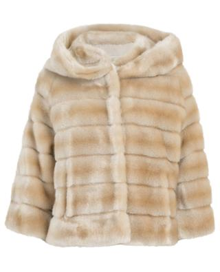 Swinger short jacket in faux fur / FAZ / NOT FUR