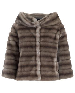 Swinger short jacket in faux fur / FAZ / NOT FUR