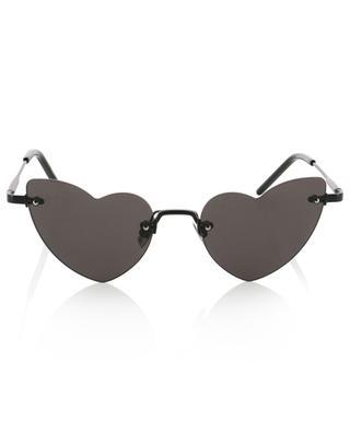 SL 254 Loulou heart shaped sunglasses SAINT LAURENT PARIS