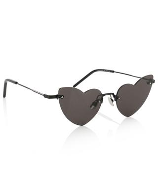 SL 254 Loulou heart shaped sunglasses SAINT LAURENT PARIS
