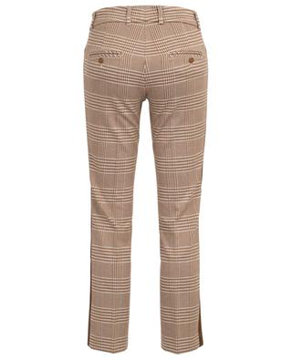 Felicity straight fit glen check trousers CAMBIO