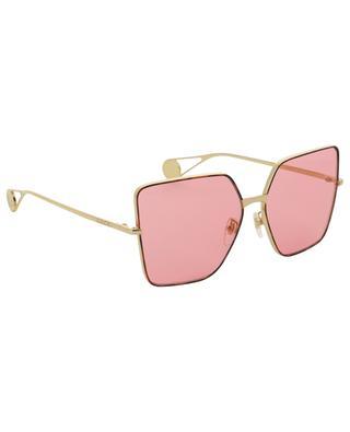 Quadratische Sonnenbrille mit GG Detail GUCCI