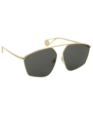 Specialized Fit geometrical sunglasses GUCCI